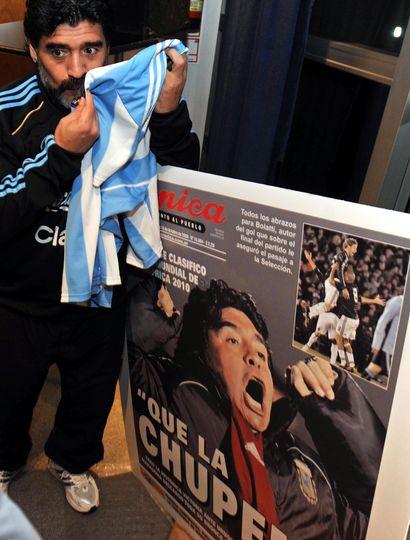 Quince frases muy recordadas de Diego Maradona
