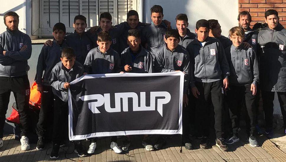 El seleccionado Sub-13 de la Liga Deportiva del Oeste igualó 1 a 1 frente a su similar de Vedia.