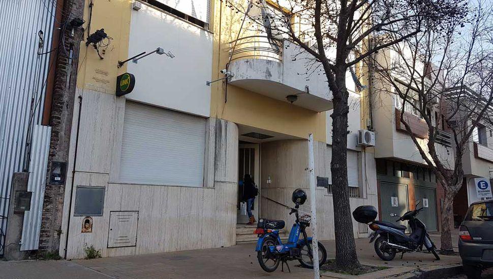 La sede de la Sociedad Comercio e Industria, ubicada en 25 de Mayo 65 de Junín.