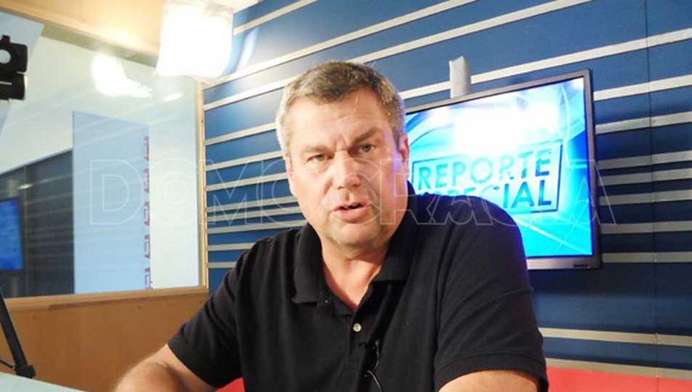 El secretario de Obras Públicas, Marcelo Balestrasse, respondió a las críticas del campo por el estado de los caminos rurales.