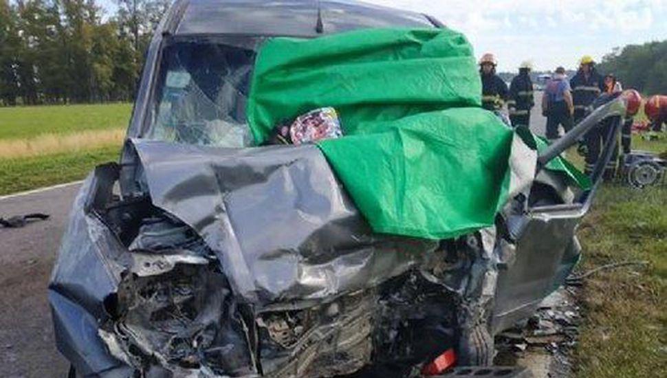 Un muerto y cinco heridos en un accidente en la ruta 5