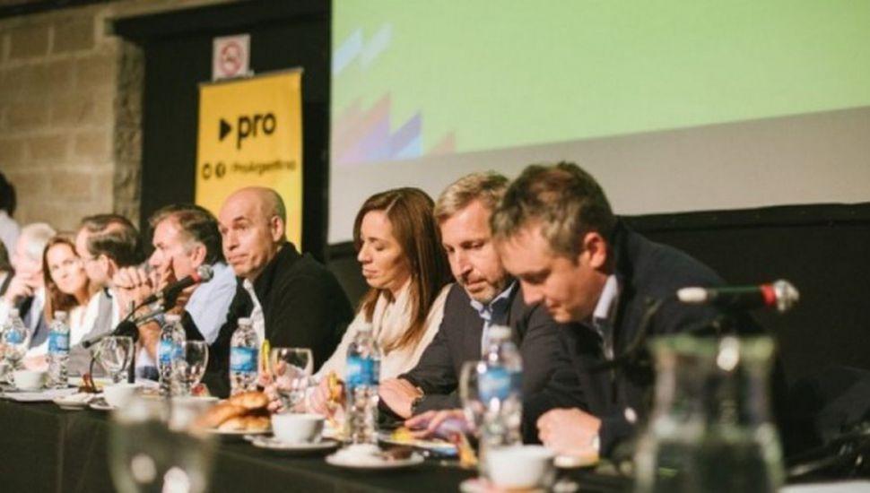 Michetti, Vidal, Peña y Rodríguez Larreta encabezan la Cumbre del Pro