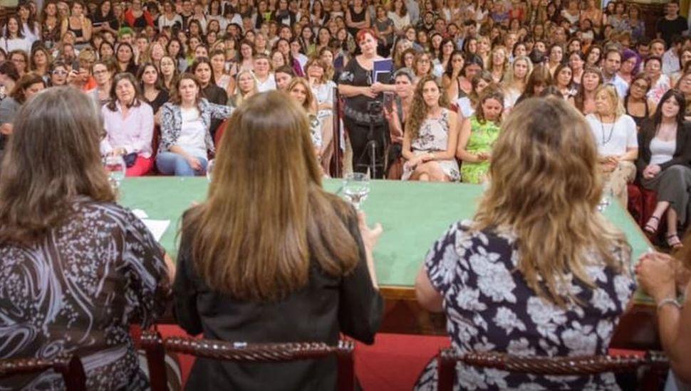 Alem formó parte de la presentación del Ministerio de las Mujeres, Políticas de Género y Diversidad sexual.