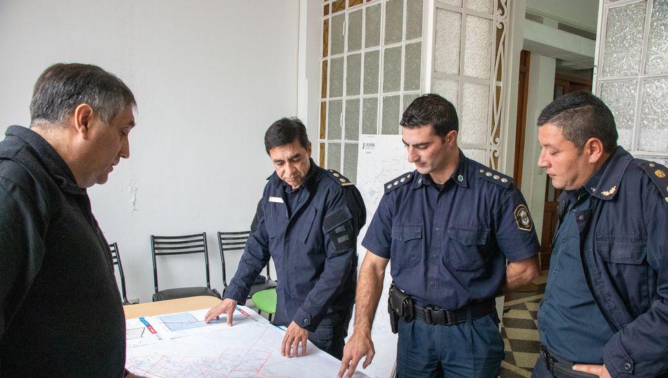 Intensificarán el patrullaje policial en la zona de quintas