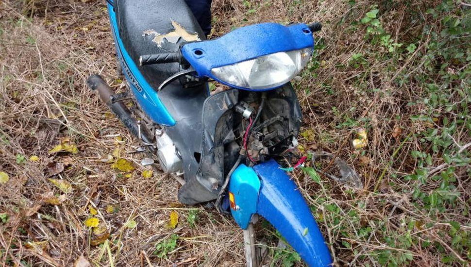Hallaron una moto que había sido robada en Lincoln