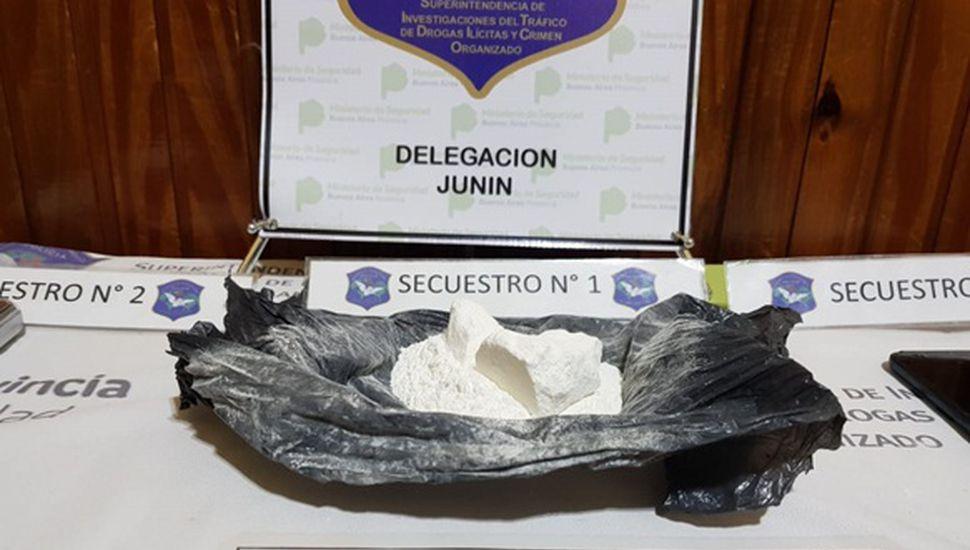 Un detenido con cocaína en Chacabuco