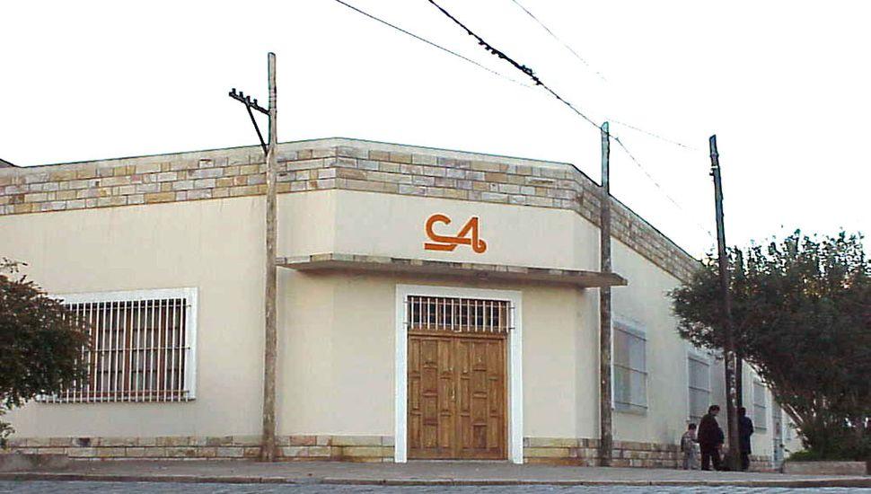 Sede del Club de los Abuelos.