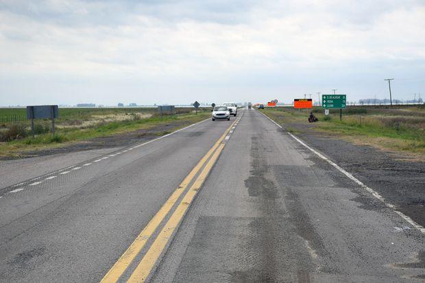 Rehabilitaron el tránsito en el tramo de la ruta 7 sobre La Picasa.