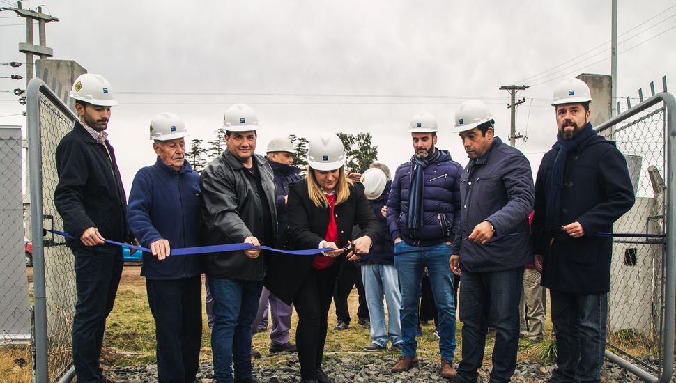 EDEN inauguró obras en Arribeños y Ascensión