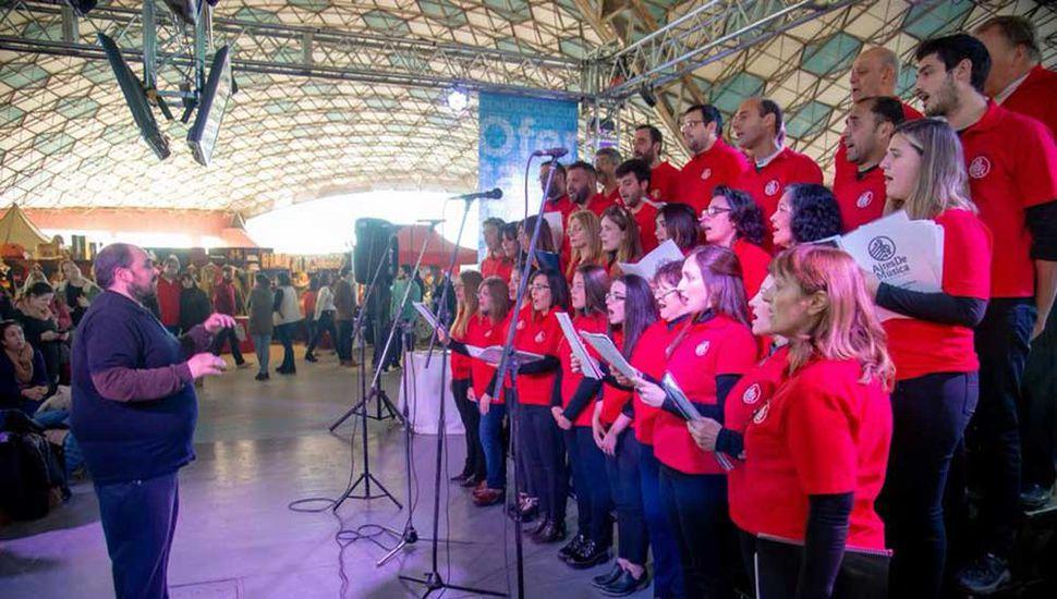 """Coro """"Aires de música""""."""