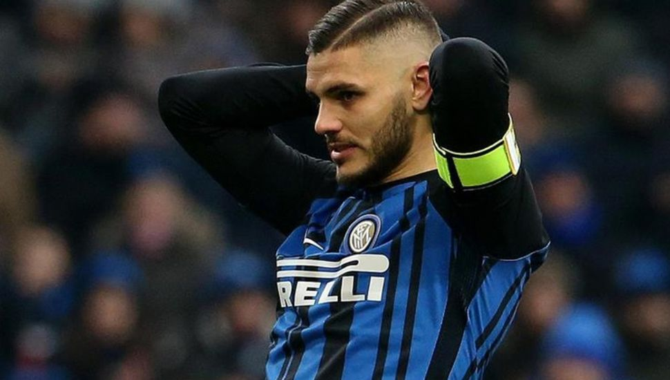 Mauro Icardi convirtió, pero el Inter igual perdió el invicto