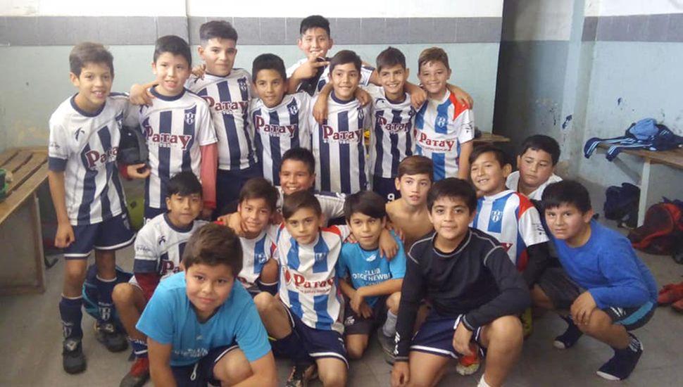 Formativas del Club Jorge Newbery.