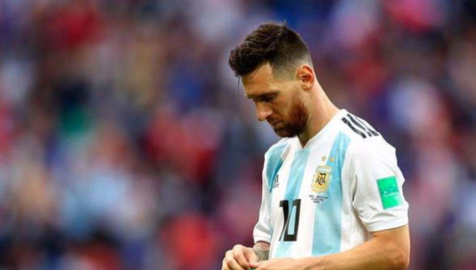 Messi no estará hasta 2019 en la Selección Argentina