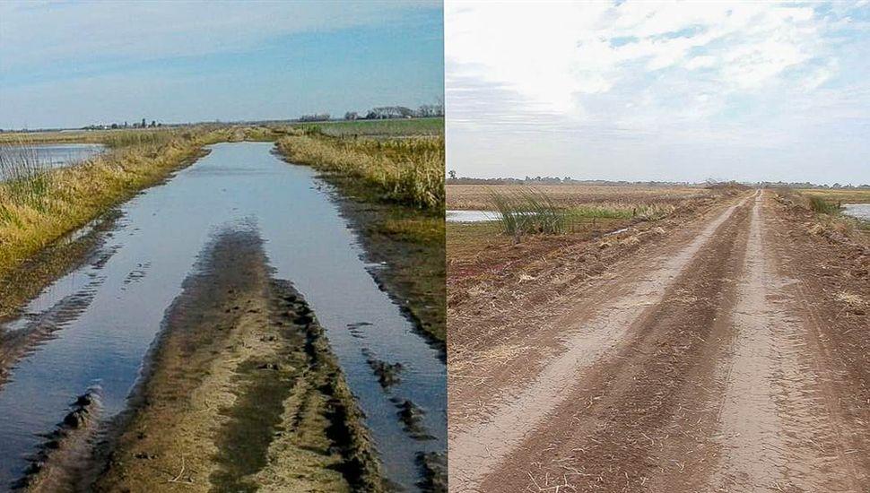 """""""Estamos a 150 kilómetros de terminar con una primera reestructuración de la totalidad de los caminos rurales"""