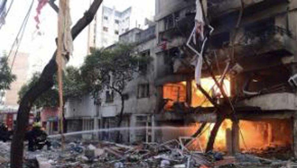 Piden 5 años de prisión efectiva para los  acusados de la explosión del edificio en Rosario