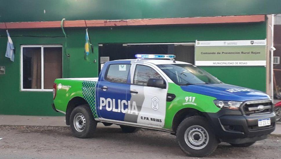 Entregaron un móvil 0 km para la Patrulla Rural Rojas