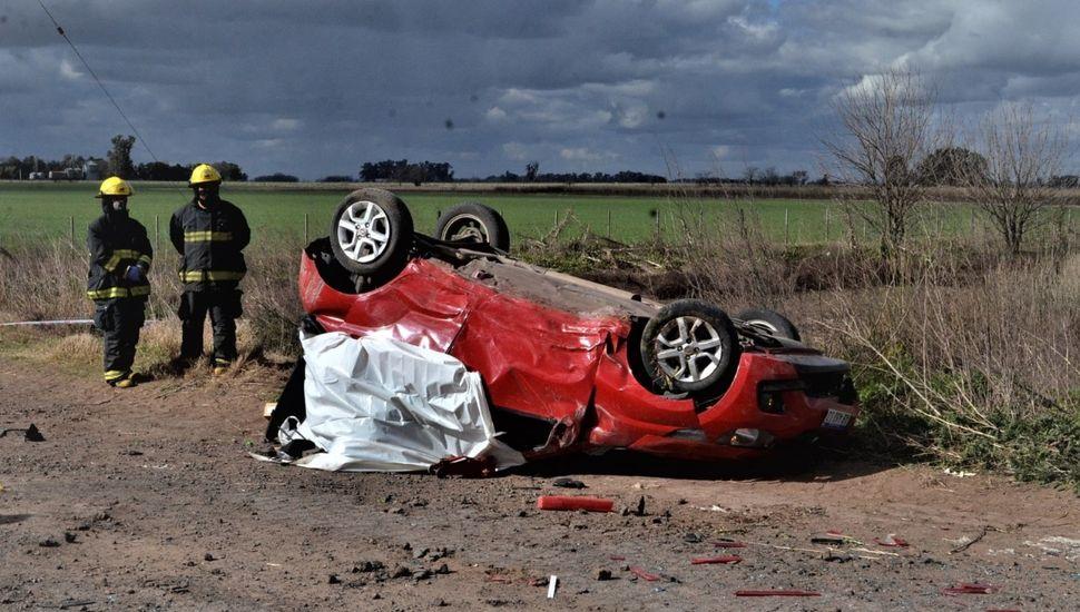 Vecina de Chacabuco perdió la vida en un accidente sobre la Ruta 30