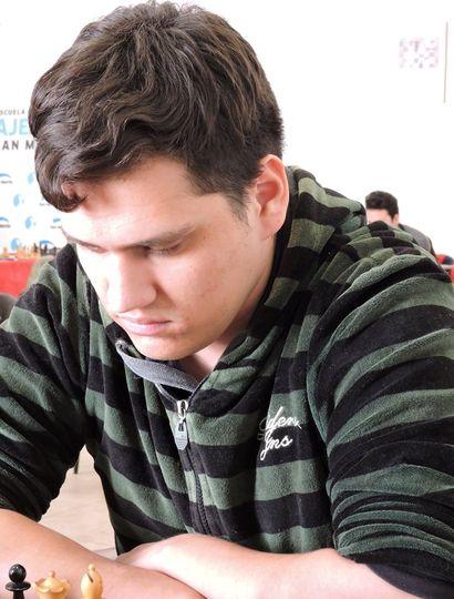 El juninense Franco Villegas participó del Campeonato Continental de las Américas de ajedrez 2021.