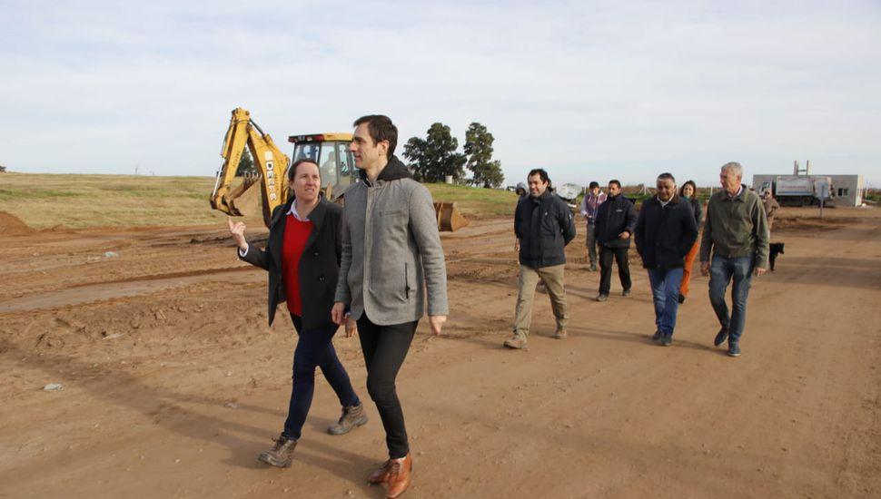 Petrecca anunció el inicio de la construcción de la planta de reciclado