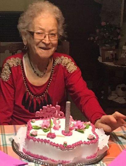 Haydée Diez cumplió 93 años y festejó