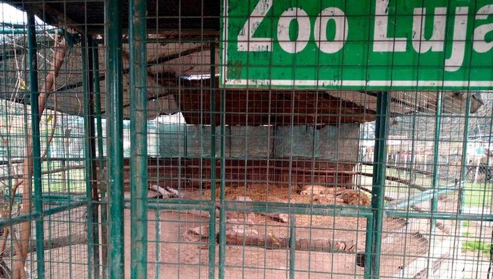 Piden la reconversión del Zoológico de Luján