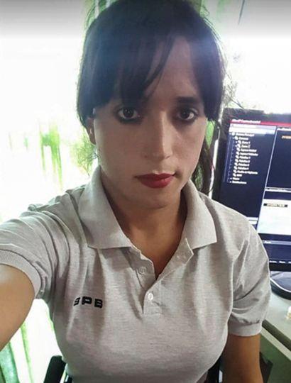 Ángeles es la primera oficial trans en acceder a un puesto jerárquico.