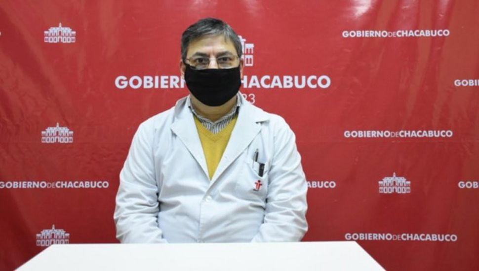 Alberto Quereda, director del Hospital Municipal de Chacabuco.