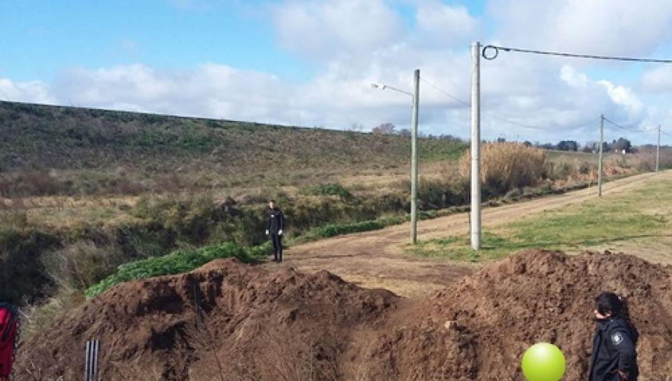 Encontraron el cuerpo de un hombre en un canal cercano a la Ruta Provincial N° 46