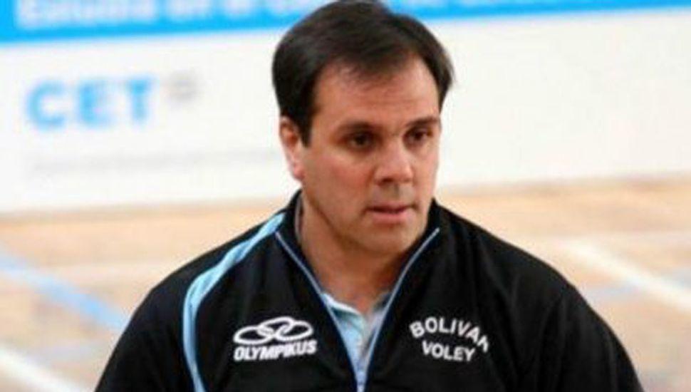 Javier Weber encabezará una jornada de capacitación sobre vóley, el 31 de agosto en el Club Rivadavia (J).