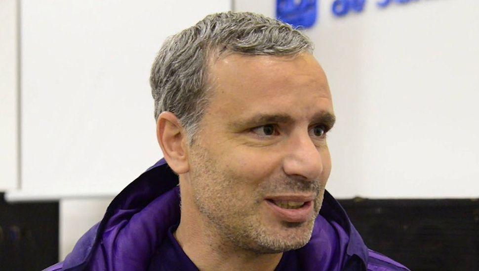 Gustavo Grossi, actual director del Proyecto Infanto-Juvenil del Club Atlético River Plate.