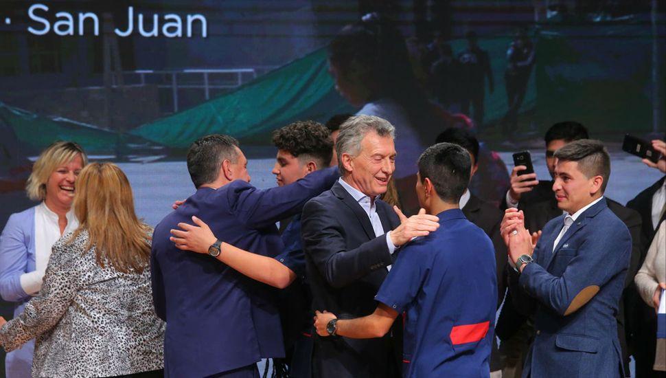 Una escuela de San Juan  ganó un millón de pesos  por un proyecto de robótica