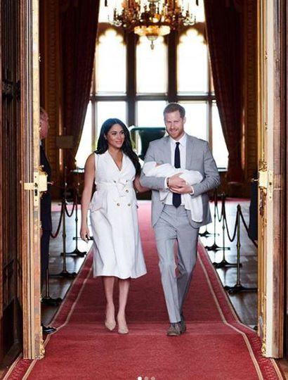 Fin del misterio: se conoció el nombre del hijo de Meghan Markle y el príncipe Harry