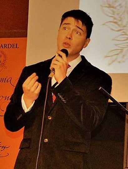 Andrés Pastorino, una de las voces jóvenes de Junín.