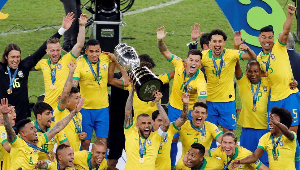 Brasil se coronó campeón.
