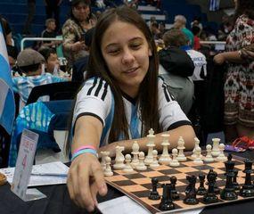 Sofía Milagros Bontempi Garrote terminó tercera, octava por sistema de desempate, en la categoría Sub-12 del XVI Sudamericano de la Juventud de Ajedrez en el Cenard.