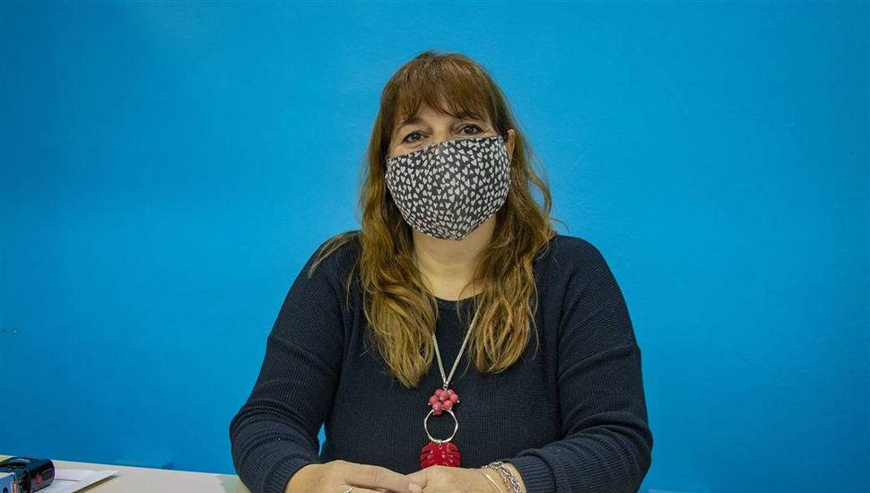 Orlanda D'Andrea, directora de Educación del Gobierno de Junín.