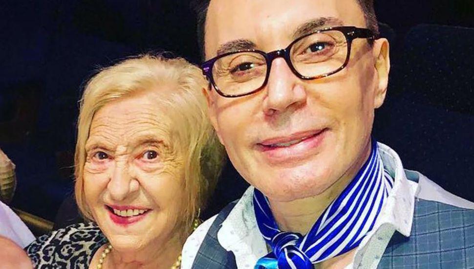 El momento más doloroso para Marcelo Polino: murió Ethel, su mamá