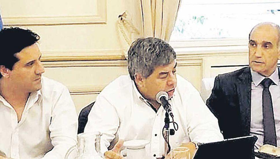 Abad, Fernández y Salvador sostienen el acuerdo con el PRO.