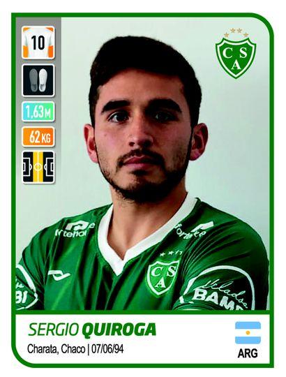 El plantel del Verde, presente en el álbum de la Copa de la Liga Profesional