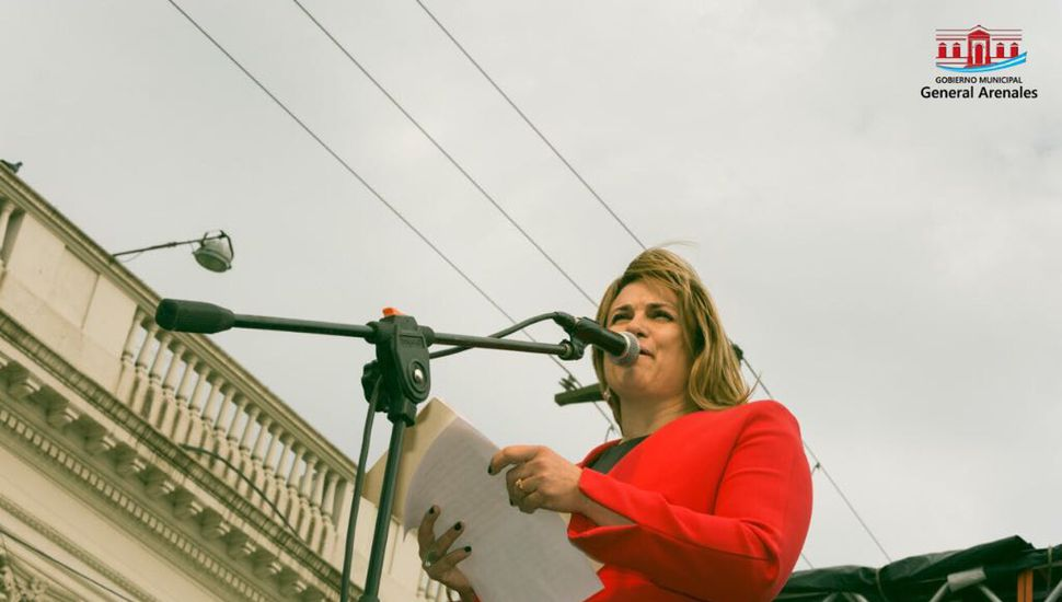 El discurso de Erica Revilla en el 129º aniversario de Arenales