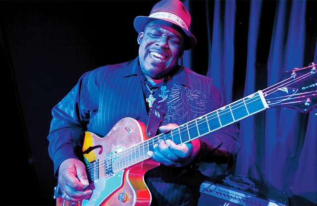 La guitarra blusera de Slam Allen regresa a Buenos Aires