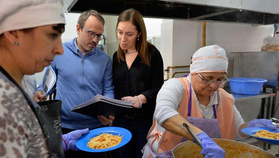Vidal anuncia hoy un aumento en los montos destinados a los comedores escolares.