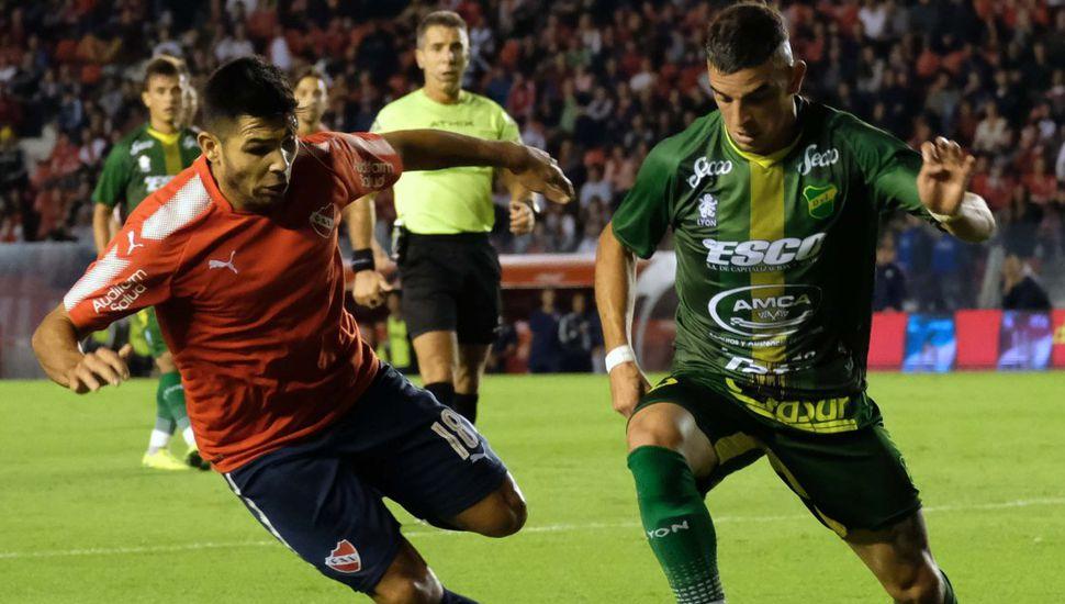 Defensa dio otro golpe: en el Libertadores venció a Independiente