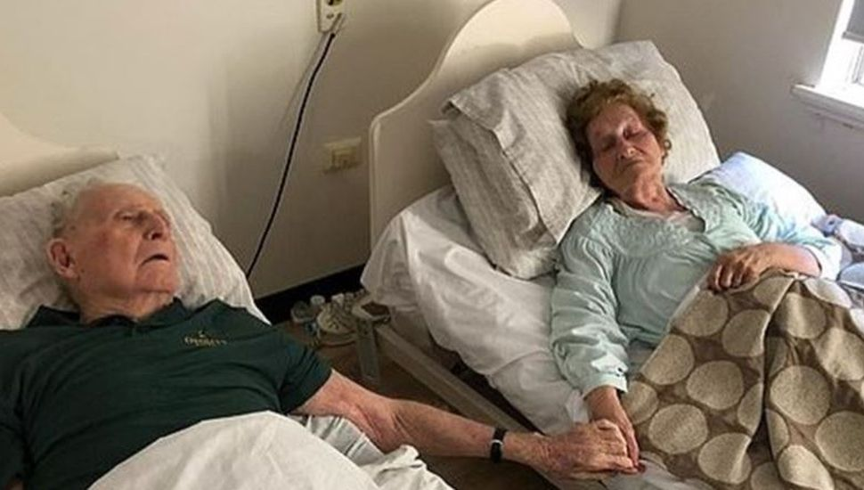 El amor es más fuerte: estuvieron 70 años casados y murieron agarrados de la mano