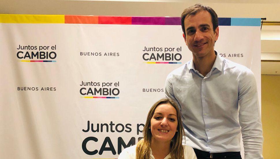 Laura Ricchini agradeció el apoyo del intendente Pablo Petrecca para su postulación.