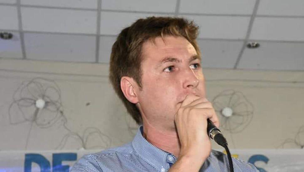 Carlos Ferraris, del Frente de Todos, ganador en Alem.