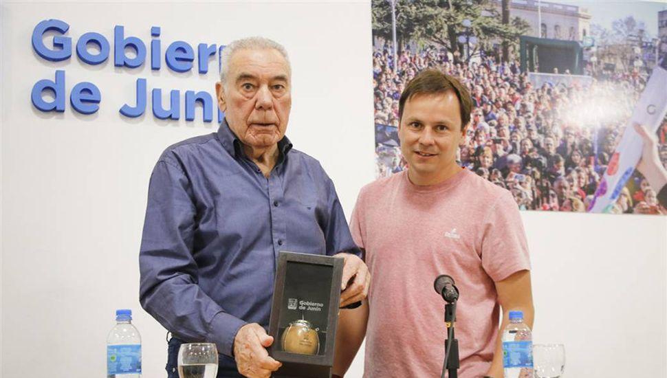 Carlos Alberto Legnani y Daniel Pueyo.