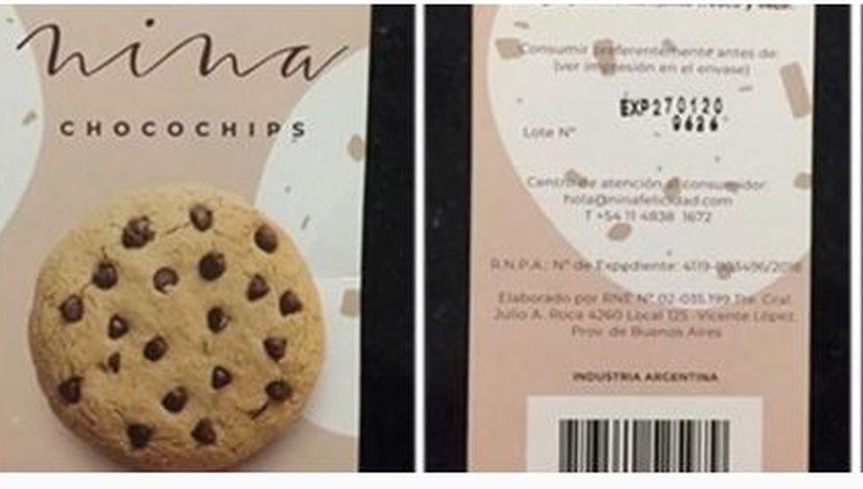 La Anmat prohibió unas galletitas de vainilla con chocolate
