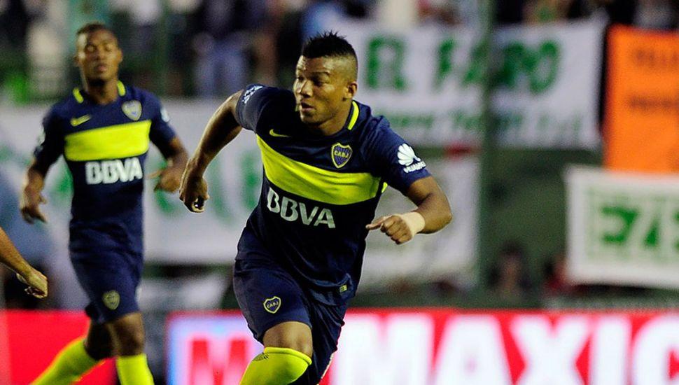 Frank Fabra volverá a ser titular en Boca, hoy ante Argentinos Juniors.