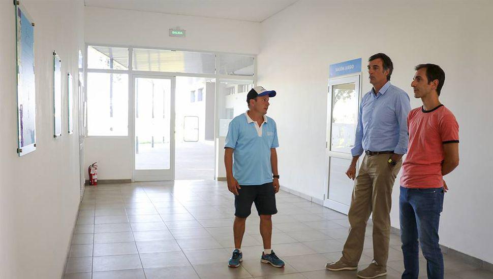 """Bullrich en Junín: """"Las obras terminan siendo algo positivo para los chicos"""""""